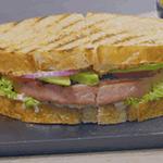 Sándwich de atún a la parrilla